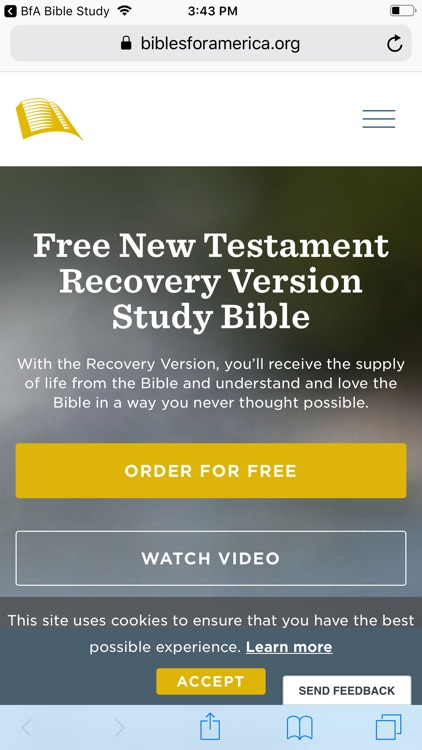 BfA Bible Study Topics by Bibles for America