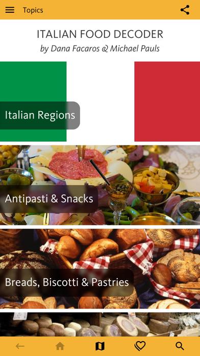 Italian Food Decoder review screenshots
