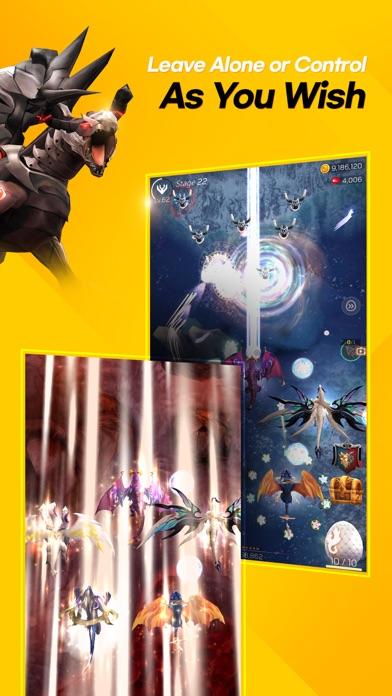 Screen Shot DragonSky : Idle & Merge 2