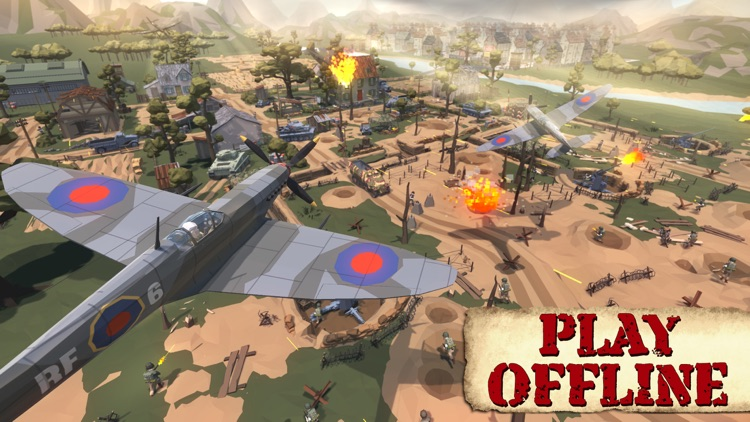 World War II Polygon screenshot-6