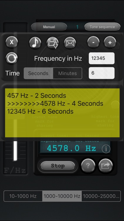 Tone generator screenshot-2