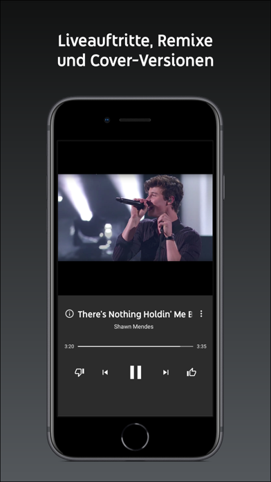 Screenshot for YouTube Music in Germany App Store