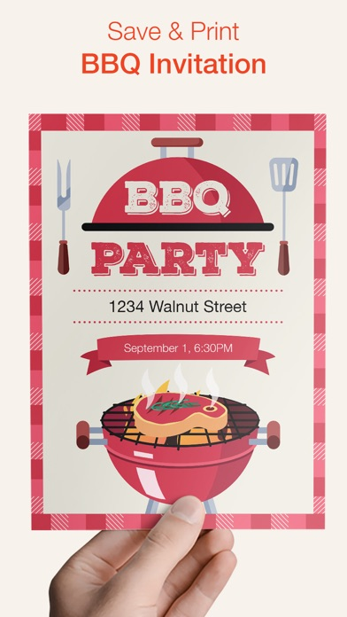 BBQ Invitation screenshot 3