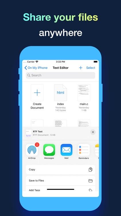 Text Editor. screenshot-4