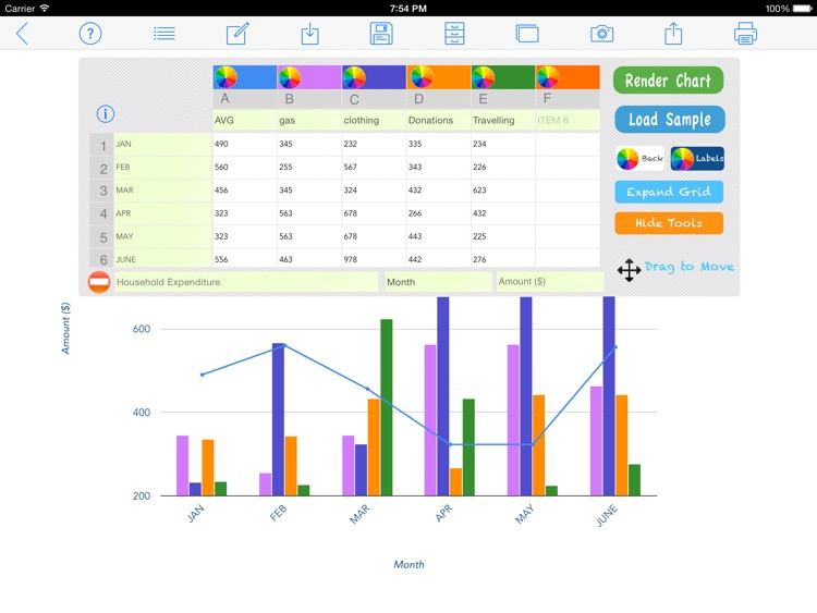 Chart Maker screenshot-2
