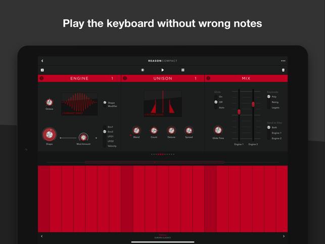 Reason Compact - Make Music Screenshot