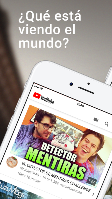 Screenshot for YouTube in Spain App Store