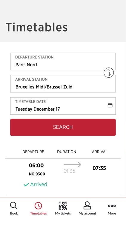 Thalys - International trains screenshot-5