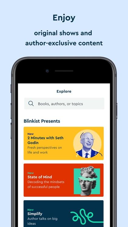 Blinkist: 15min Book Insights screenshot-5