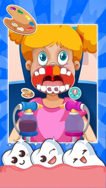 Cute Little Dentist screenshot-4