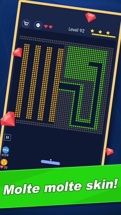 Screenshot of Break Bricks - La missione del4
