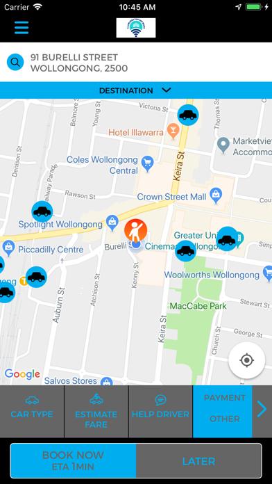 Illawarra Taxi Network screenshot one