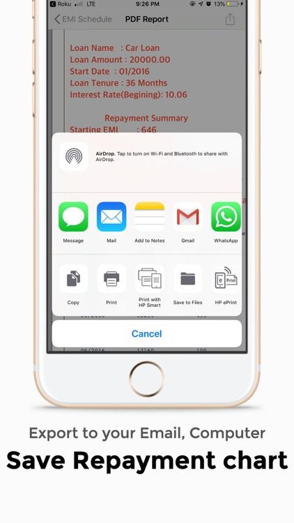 Loan Calculator - Money Saver screenshot-4