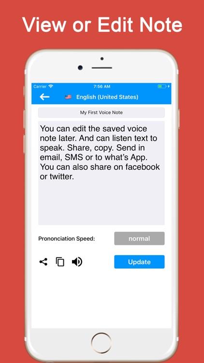 Speech to Text - Voice Notes screenshot-3