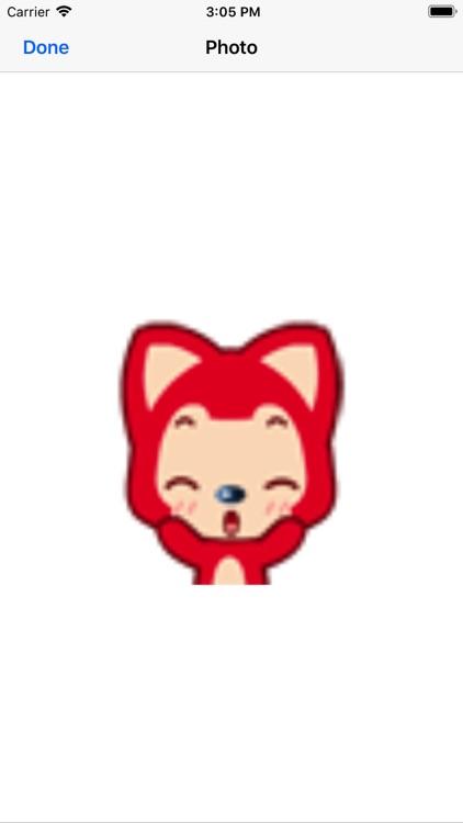 Red cute little fox screenshot-4