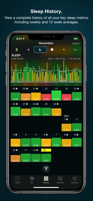 AutoSleep Tracker for Watch Screenshot
