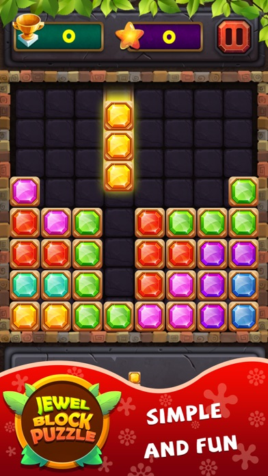 Tải về Jewel Block Puzzle Classic cho Android
