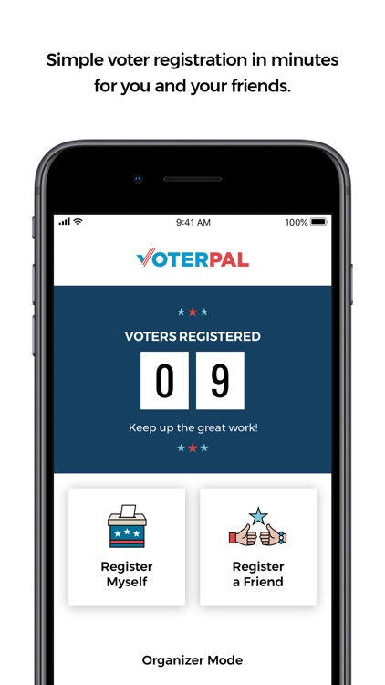 VoterPal - Register Today