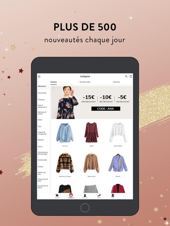 Screenshot #6 pour SHEIN-Vente Privee Mode Femme