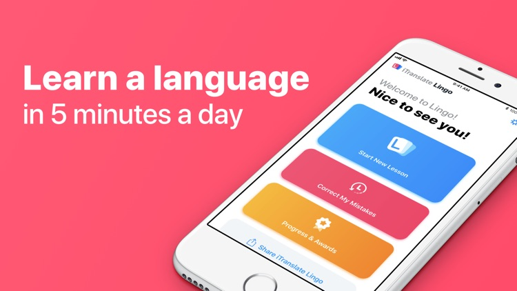iTranslate Lingo screenshot-0