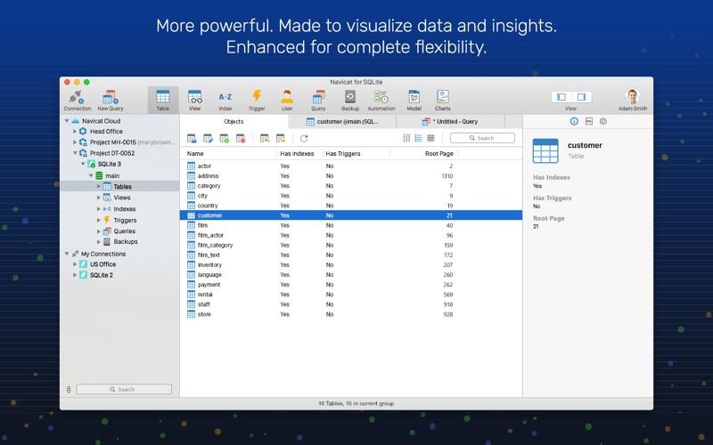 Navicat 15 for SQLite for Mac