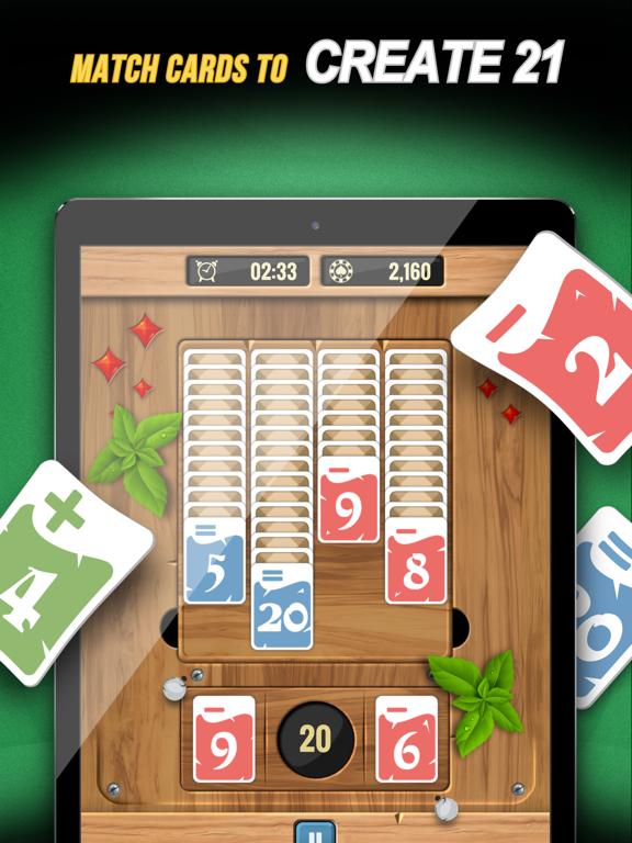 Zone 21 - Math Solitaire screenshot 9