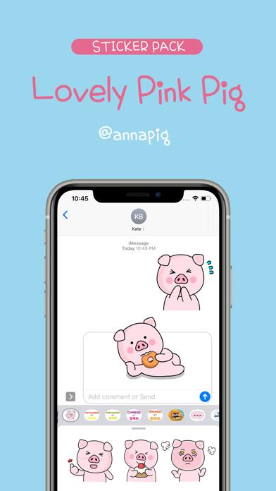 Lovely Pink Pig screenshot 1