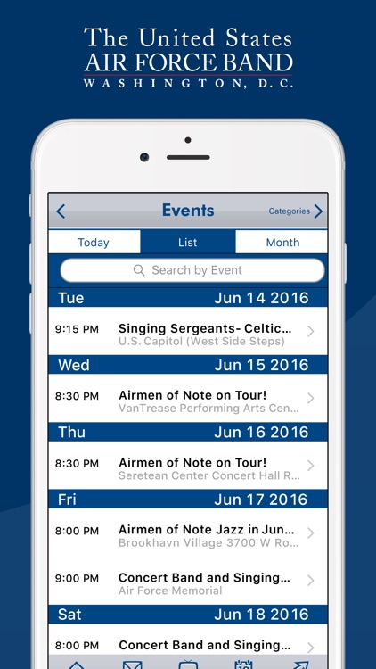 United States Air Force Band screenshot-3