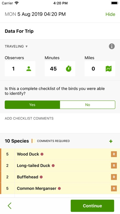 eBird screenshot-3