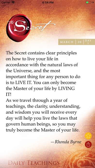 Daily Teachings Screenshot 2