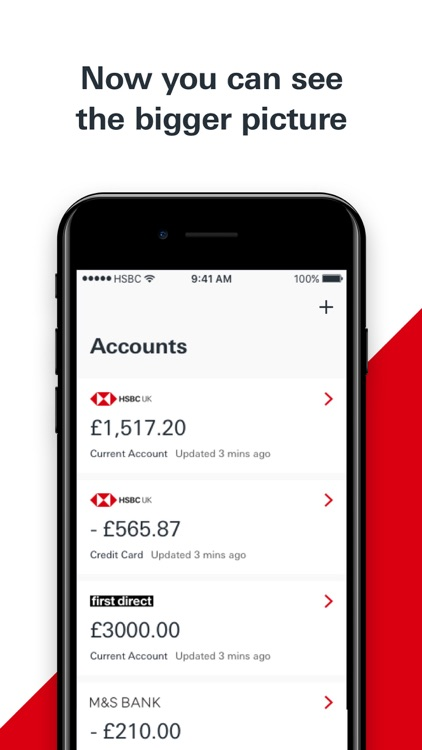 Connected Money from HSBC by HSBC Global Services (UK) Limited