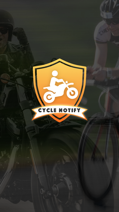 Cycle Notify app image