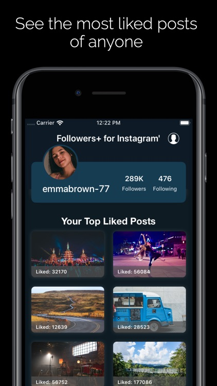 Followers+ for Instagram' screenshot-3