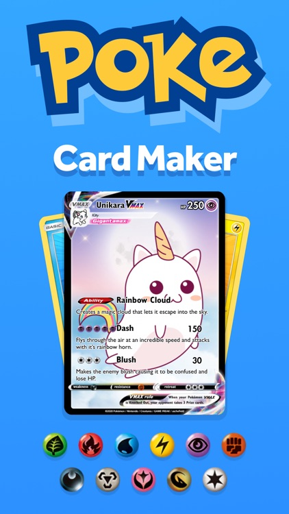 PokeArt - Pokemon Card Maker screenshot-0