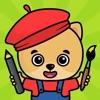 子供向けお絵かき・色塗りアプリ