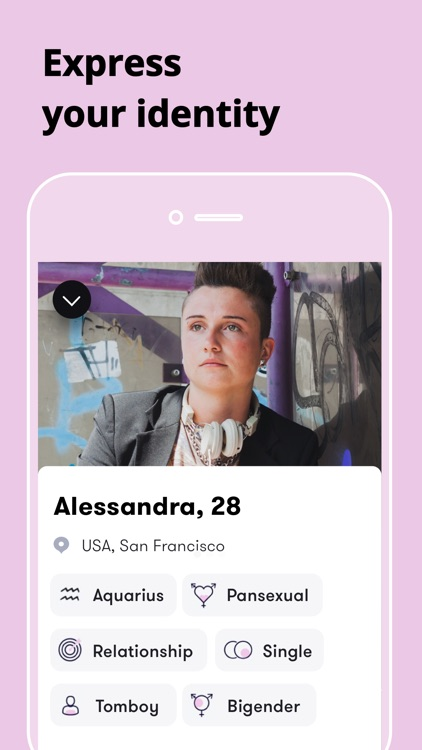 Female Gay Lesbian Chat Wonder screenshot-4