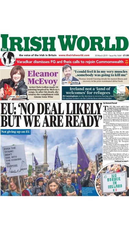 Irish World Newspaper screenshot-3