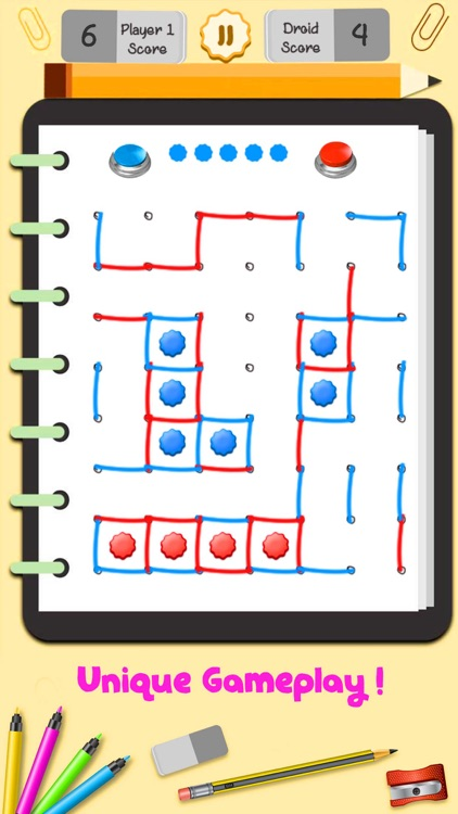 Dot and Boxes Puzzle Game screenshot-3