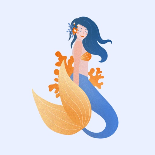 Queen Mermaid Stickers