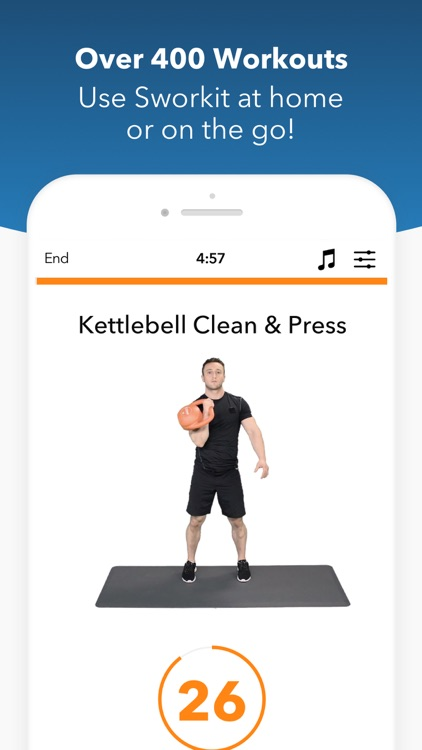 Sworkit Fitness screenshot-1