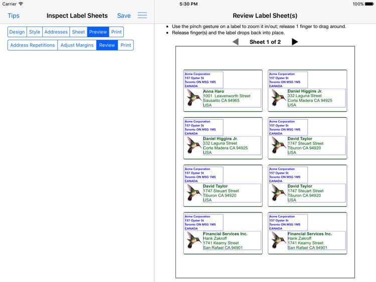 Address Label Creator screenshot-4