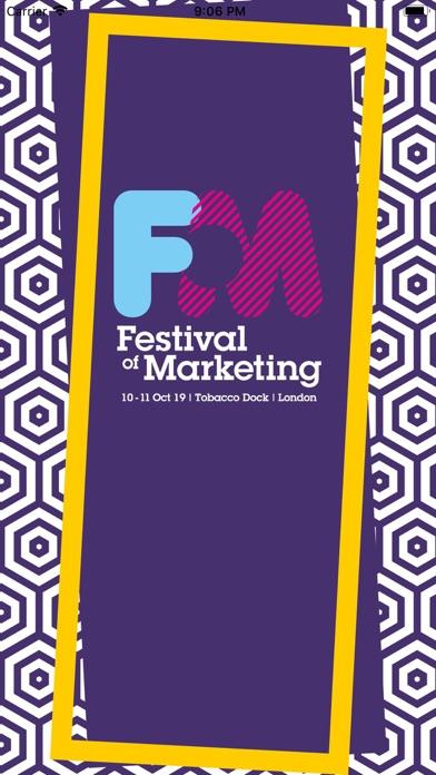 Festival of Marketing screenshot one