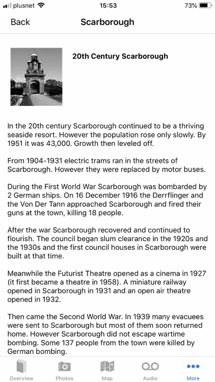 Pocket Tours - Scarborough screenshot-4