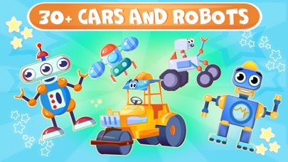 Cars jigsaw puzzle kids game Screenshot