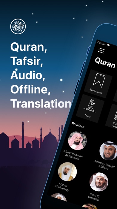 Screenshot for Quran Pro Muslim القرآن الكريم in Korea App Store