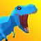 App Icon for Dinosaur Rampage App in United States App Store