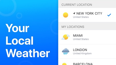 Screenshot for Weather' Pro in Qatar App Store