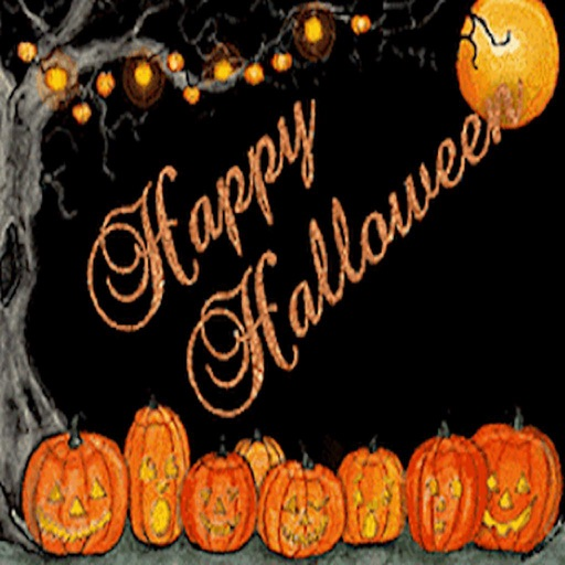 Animated Happy Halloween Gif