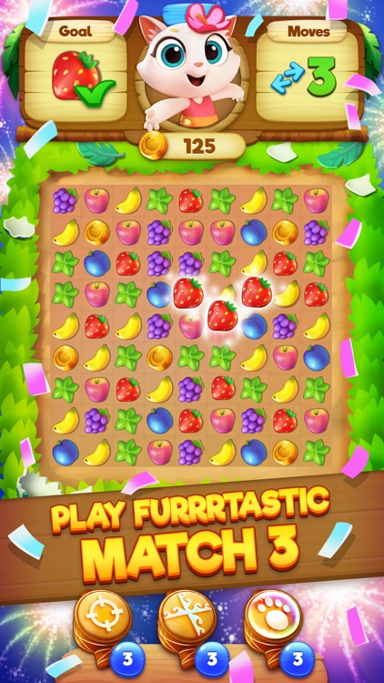 Tropicats: Match 3 Puzzle Game screenshot-0