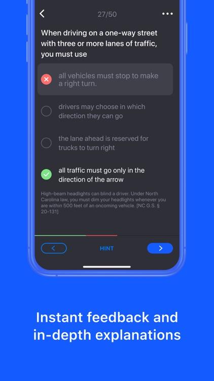 DMV Permit Practice Test Genie screenshot-4